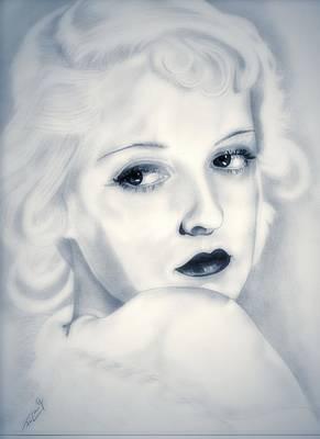 Bette Davis Poster by Fred Larucci