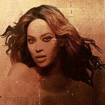 Beyonce Simple By Gbs Poster by Anibal Diaz
