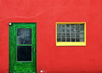 Beyond The Green Door Poster by Todd Klassy