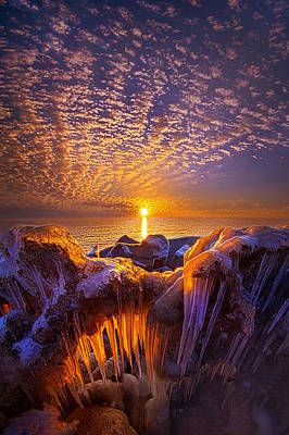 Beyond The Limits Poster by Phil Koch