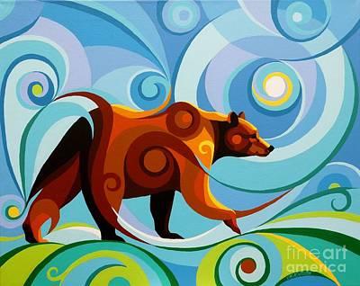 Big Bear Valley Poster by Christine Karron