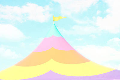 Big Top In The Sky Poster by Amy Tyler