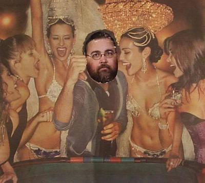Bill In Vegas Poster by William Douglas