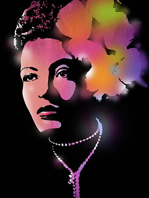 Billie Holiday Poster by Paul Sachtleben