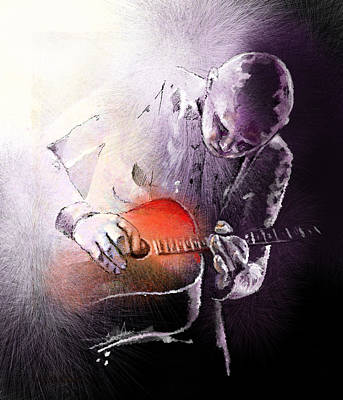 Billy Corgan Poster by Miki De Goodaboom