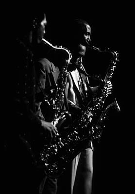 Billy Harper David Fathead Newman Wilton Felder Poster by Lindy Pollard