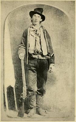 Billy The Kid 1859-81, Killed Twenty Poster by Everett