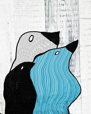 Birdies - 33tx Poster by Variance Collections