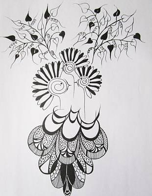 Birds Nest Poster by Rosita Larsson