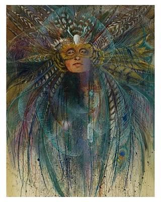 Birdtribe Magic Poster by Pamela Mccabe