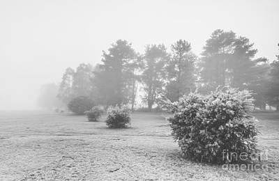 Black And White Snow Landscape Poster by Jorgo Photography - Wall Art Gallery