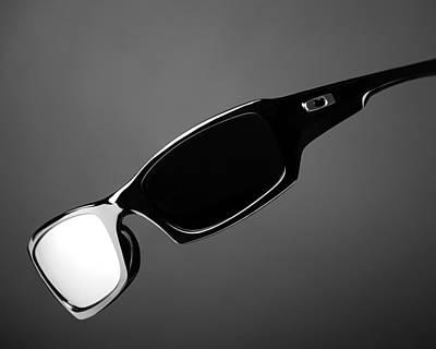 Black And White Sunglasses Poster by Noah Katz