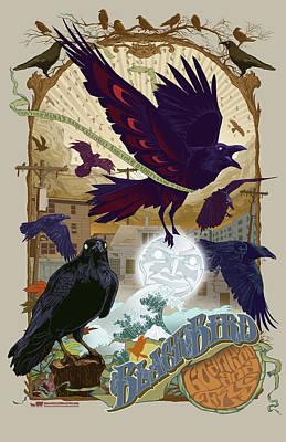 Blackbird 1 Poster by Nelson Garcia