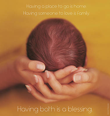 Blessings Poster by Anne Geddes