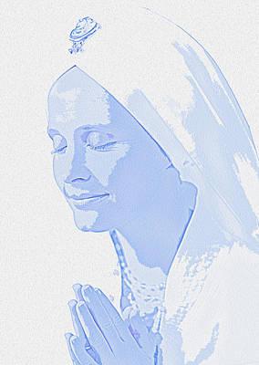 Bliss Is God Poster by Manjot Singh Sachdeva