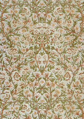 Blossom Poster by William Morris