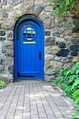 Blue Door Poster by Patrick Shupert