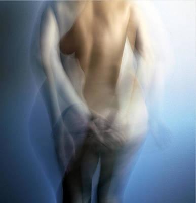 Blue Emotion Poster by Renata Vogl