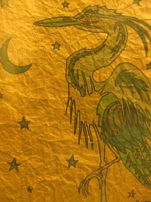 Blue Heron Poster by Austen Brauker