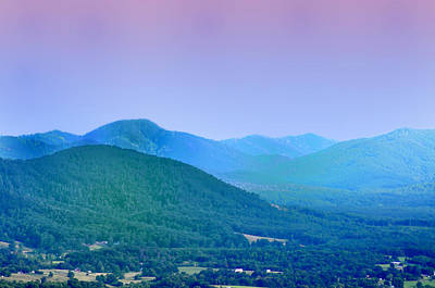 Blue Ridge Mountains Poster by Bill Cannon