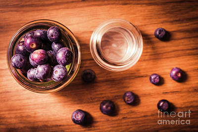 Blueberry Kitchen Still Life Poster by Jorgo Photography - Wall Art Gallery