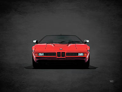 Bmw M1 1979 Poster by Mark Rogan