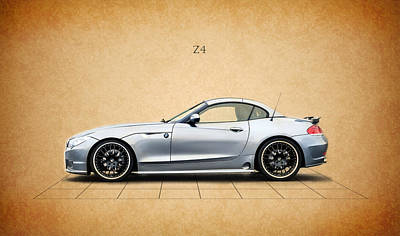 Bmw Z4 Poster by Mark Rogan