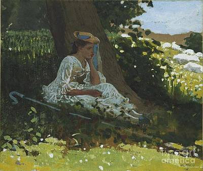Bo-peep Poster by Winslow Homer