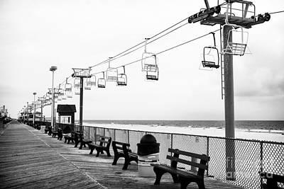 Boardwalk Ride Poster by John Rizzuto
