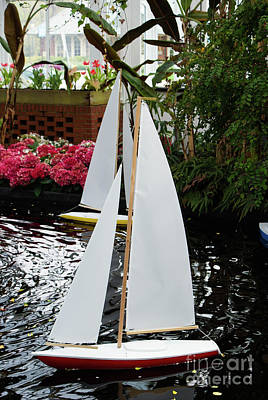 Boats At Phipps Conservatory Poster by Kevin Gladwell