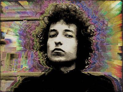 Bob Dylan 5 Poster by Tony Rubino