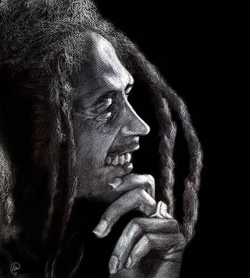 Bob Marley  Poster by Fithi Abraham