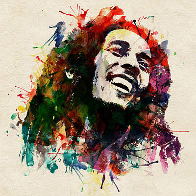 Bob Marley The King Of Reggae Poster by Marian Voicu