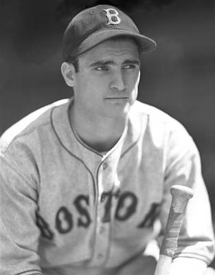 Bobby Doerr 1937 Rookie Poster by OleTime Photos