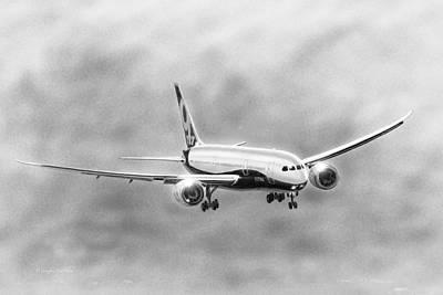 Boeing 787 Poster by Douglas Castleman
