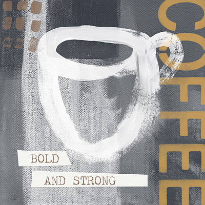 Bold And Strong- Art By Linda Woods Poster by Linda Woods