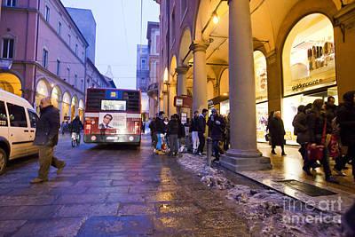 Bologna At Dusk Poster by Andre Goncalves