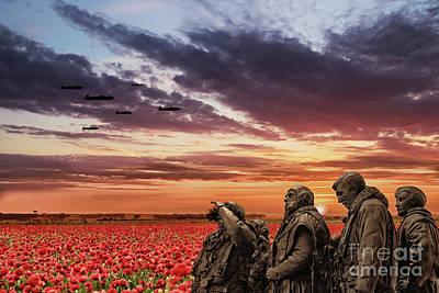 Bomber Command Poster by J Biggadike
