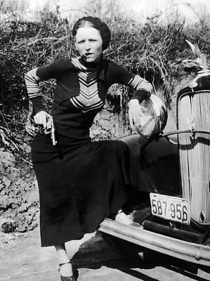 Bonnie Parker  1910 - 1934 Poster by Daniel Hagerman