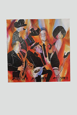 Boogey Blues Poster by Thyrza Stott