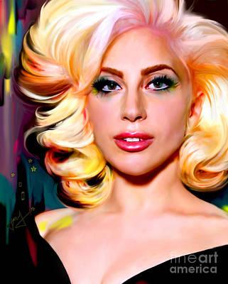 Born This Way, Lady Gaga Poster by Jaimy Mokos
