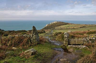 Bosigran In North Cornwall Poster by Pete Hemington