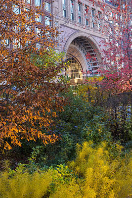 Boston Ma Autumn Foliage Poster by Toby McGuire