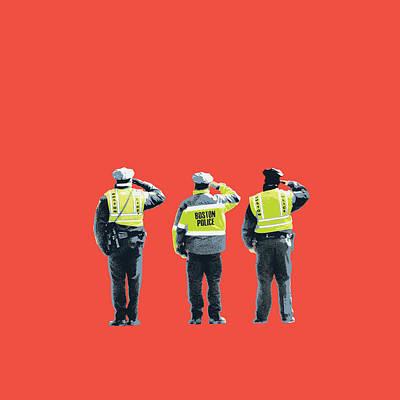 Boston Marathon Bombing Poster by Shay Culligan