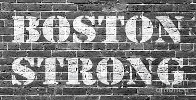 Boston Strong Poster by Edward Fielding
