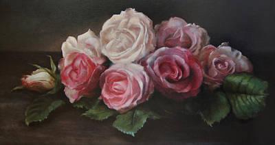 Bouquet De Table Poster by Kira Weber