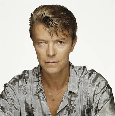Bowie Portrait 1992 Poster by Terry O'Neill