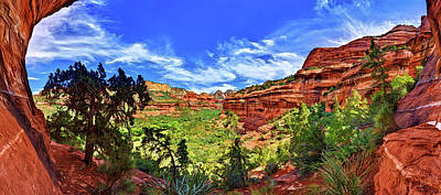 Boynton Canyon Poster by ABeautifulSky Photography