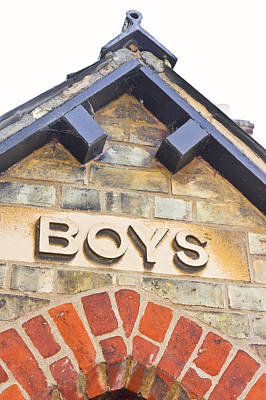 Boys' Entrance Poster by Tom Gowanlock