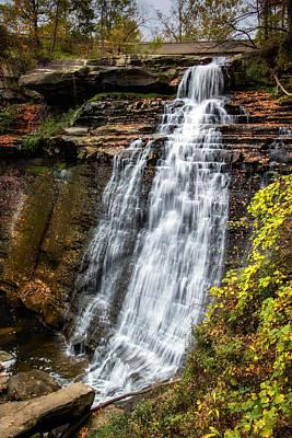 Brandywine Falls Poster by Tom Mc Nemar